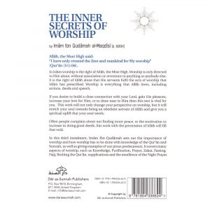 The Inner Secrets of Worship – Ibn Qudamah al-Maqdisi