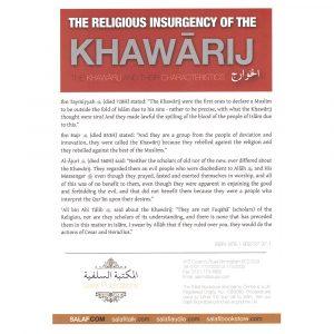 The 'Religious' Insurgency of the Khawarij