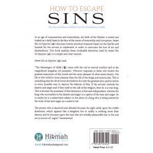 How to Escape Sins – Ibn Al-Qayyim Al-Jawziyyah