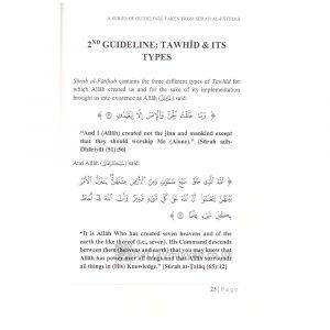 A Series of Guidelines Taken from Surah Al-Faathia by Shakih Abdur Razzaq ibn Abdul Muhsin Al-Abbad Al-Badr