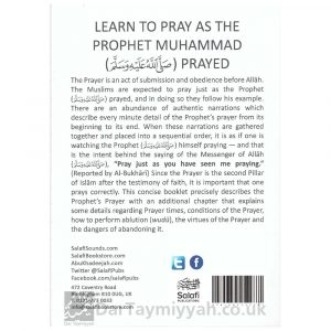 A Simple Guide to The Prophet's Prayer (Peace and blessings be upon him) – Abu Khadeejah Abdul-Wahid