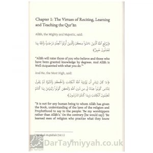 The Virtues of the Qur'an – Muhammad ibn Abdul-Wahhab