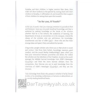 Important Guidance for the Youth of the Ummah – Shaykh al-Fawzan